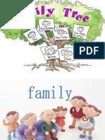 剑桥少儿英语一级Unit11 Our Family Tree(1)