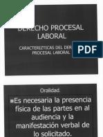 Caracteristicas Del Derecho Procesal Laboral