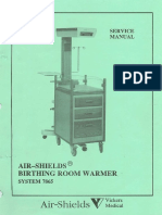 Air Shields 7865 Infant Warmer - Service Manual