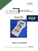 Manual Coatron m1