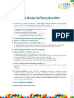 5.1.Listado de Alérgenos a Declarar (1)