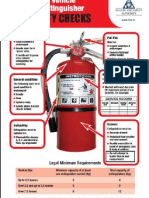 ADR Vehicle Fire Extinguisher Safety Checks