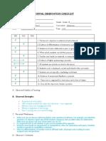 informal observation checklist  1