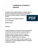 Implementacion de Energia Limpias, Javier Naal