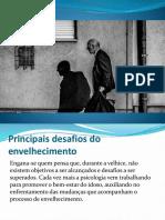 Psicologia no tratamento de idosos