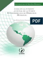 La Prueba en Función Jurisdiccional de La Corte Interamericana de Derechos Humanos