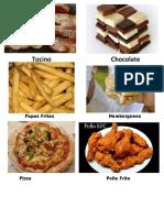 alimentos grasosos