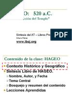 Bosquejo Hageo