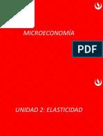 Microeconomía elasticidad