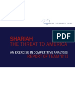 Shariah - The Threat to America (Team B Report) 09142010
