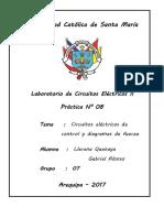 Informe eléctricos II
