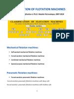 CLASSIFICATION OF FLOTATION MACHINES The author of classification is Ph.D. Natalia Petrovskaya, 2007-2018
