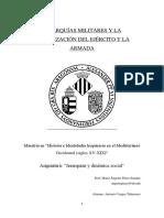 Jerarquías Militares y La Organización Del Ejército y La Armada Ensayo