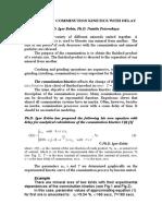 EQUATION OF COMMINUTION KINETICS WITH DELAY By Ph.D. Igor Bobin, Ph.D. Natalia Petrovskaya