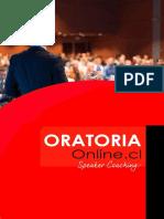 Brochure Escuela Oratoria Online