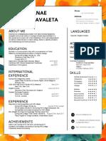brenda carrada resume