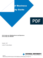 BHO3439 Marketing Services and Experiences Outline S1 2017.docx