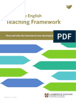 4 Developing the Cambridge English Teaching Framework