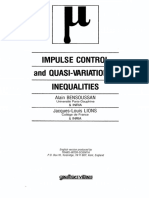 Impulse Control and Quasi-Variational Inequalities - A. Bensoussan & J- Lions