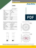 A2 2 4G 5dBi Omni Antenna Datasheet 090417