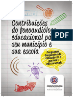Cartilha Fono Educacional 20151