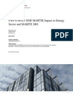 PWP 6-461G1 DOE MARTIE Impact to Energy Sector and MARITE SRS