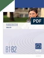 Handbook English b1-b2
