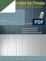 evaluaciondelacolumanlumbar-111124094647-phpapp02