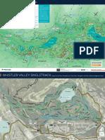 Whistler Hiking Biking Map