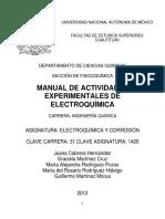 Manual de electroquímica y corrosión