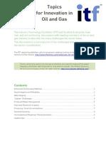 SE ITF Oil and Gas Topics v02