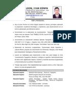 CV - Topografo Ivan