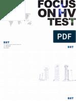 BHT Product Catalog