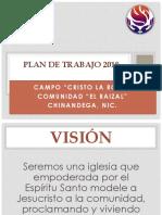 Plan de Trabajo 2018_Campo Cristo La Roca
