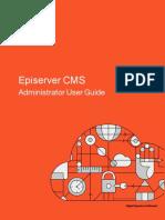 Episerver Cms Administrator User Guide