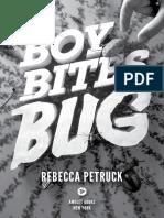 """""""Boy Bites Bug"""" Chapter Excerpt"""