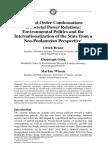 Second-Order Condensations Of Societal Power Relations