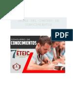 Bases Concurso Conocimientos