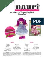 QMCreativas Doll Pattern