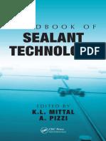 Handbook of Sealant Technology