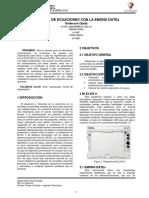 Informe # 2 Modelos de Ecuaciones Con La Emona