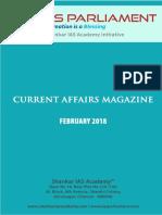 Current Afffairs February 2018 Www.iasparliament.com