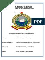1. Módulo de Introducción a La Seguridad POLI
