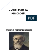 CLASE 4 - Escuelas de Psicologia