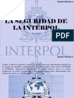 Ramiro Helmeyer - La Seguridad de La Interpol