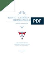 La Musica Como Discurso Sonoro- Manuel Gonzales