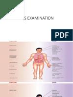 Cardiovascular System Examination