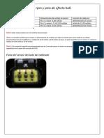 Sensor de Rpm y Pms de Efecto Hall