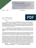 Ofício Quadro Especial contra-resposta a Assessoria Parlamentar do EB