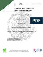 Modelos de Optimizacion de Recurso Unidad 3